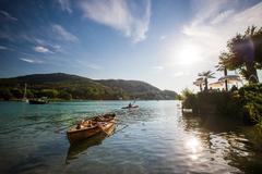 Rowboat on the Wörthersee | ©Steinthaler/Kärnten Werbung