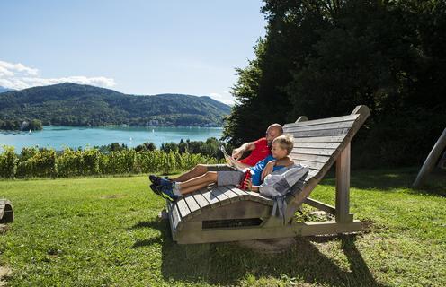 Seenwandern Wörthersee Sommer | ©Daniel Zupanc/Kärnten Werbung