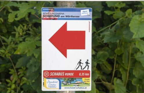 Strandhotel Schabus-Laufstrecke